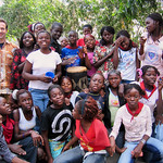 AF 504 - DR Congo, Fr. Franciszek Wojdyla SVD with youth